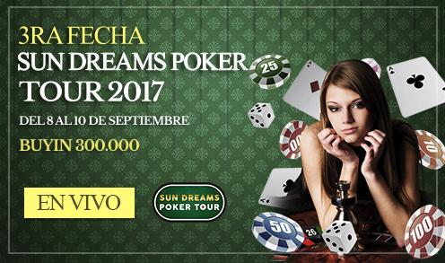 3ra Fecha Sun Dreams Poker Tour 2017